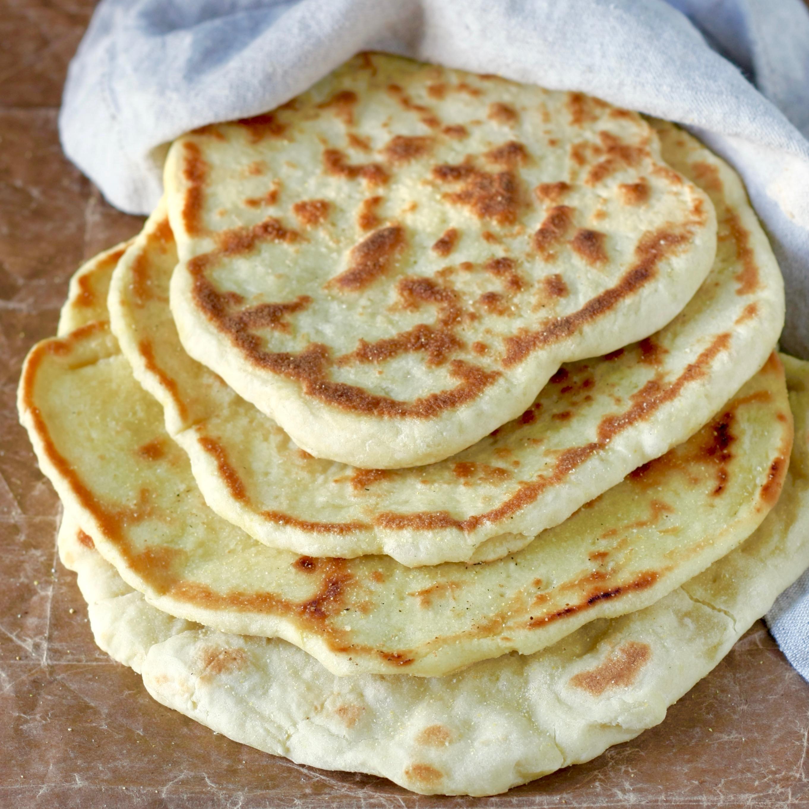 Greek pita bread - a delicious flat bread from Marilena's ...